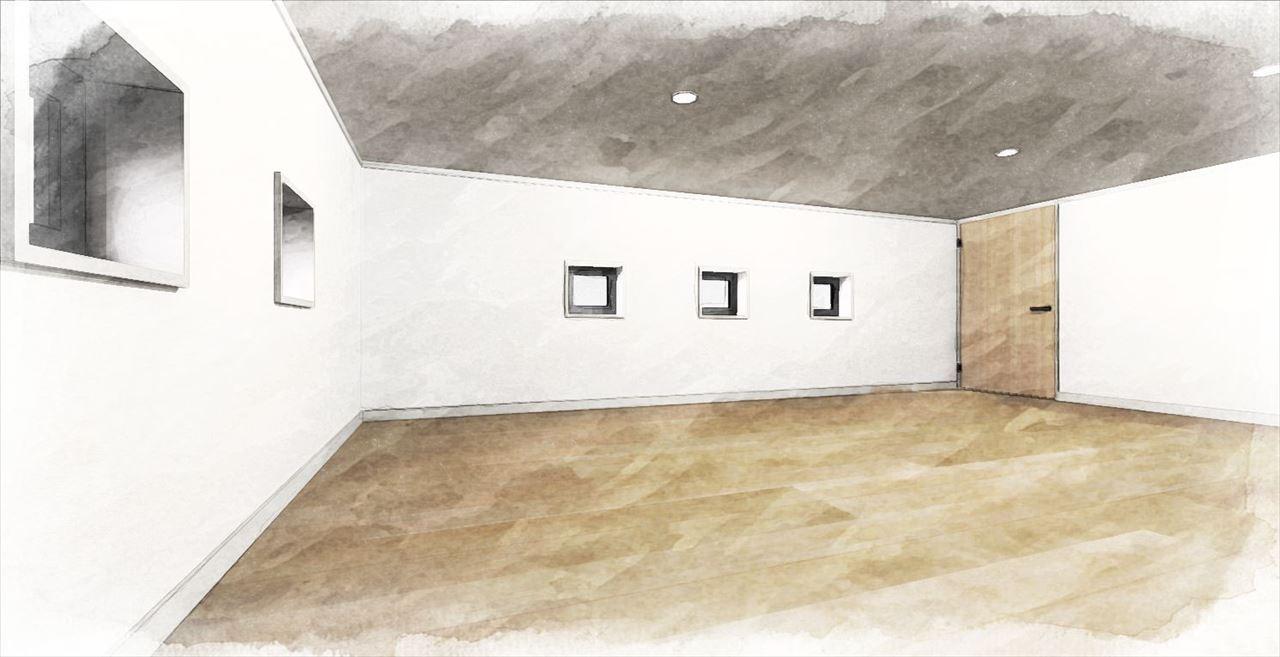 Z-5_2_RF『小屋裏収納』 (小屋裏を利用した収納部屋。天井高:1.4m)