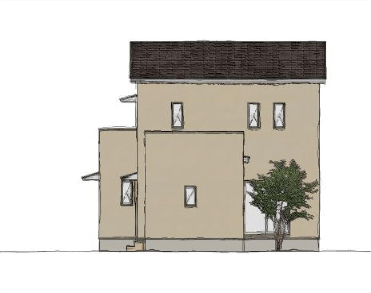 2階建外観イメージ