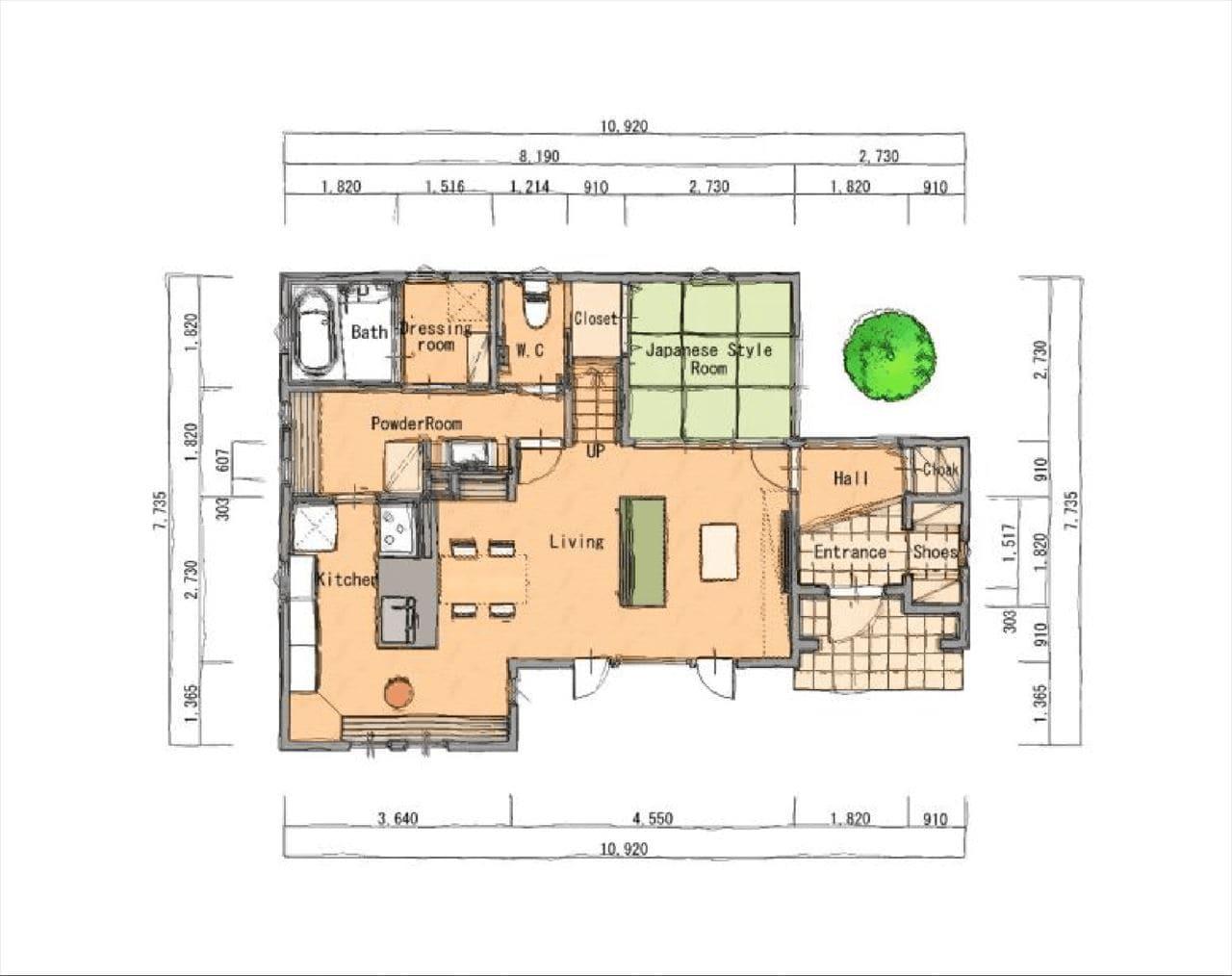 Z-1図面1階