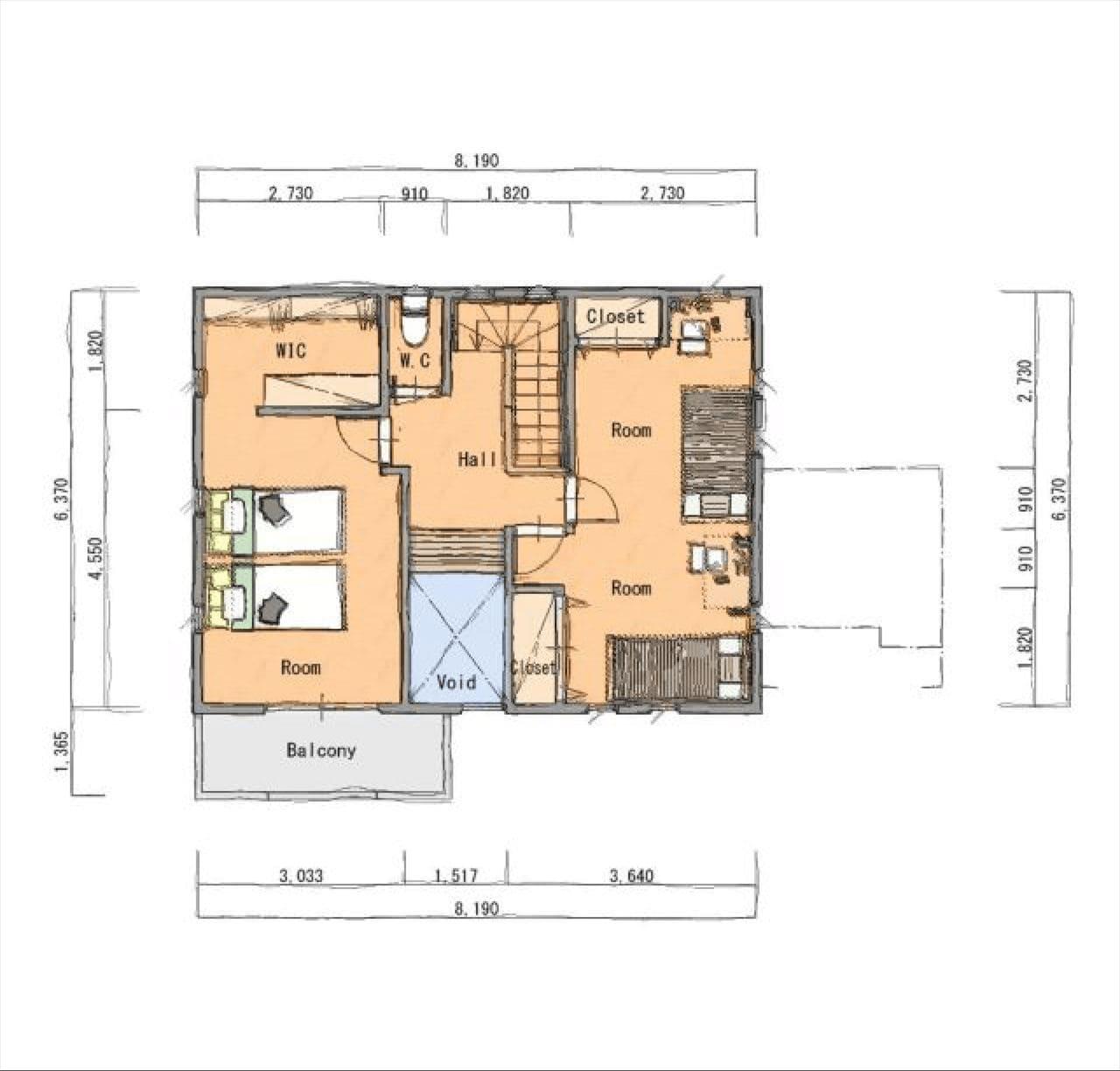 Z-1図面2階